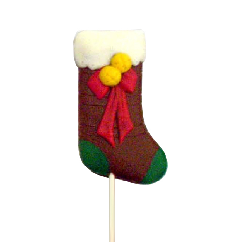 Chocolate Lollipops-Pollylops®-Stocking - Large W-144
