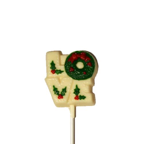 Chocolate Lollipops-Pollylops-Love Wreath/Wholesale W-149