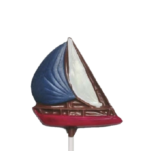 Chocolate Lollipops-Pollylops®-Sailboat/Wholesale W-402