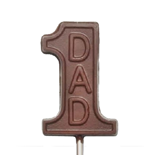 Chocolate Lollipops - Pollylops® - #1 Dad - Wholesale W-727