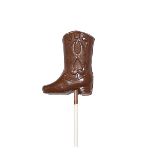 Chocolate Lollipops - Pollylops® - Cowboy Boot / Wholesale W-731