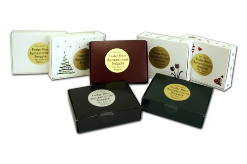 Gourmet Chocolate Fudge Bites - 6 Pieces in 4 oz. Box - Wholesale W-FB101