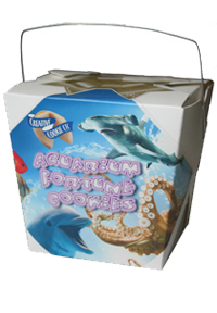 Themed Fortune Cookies (Aquarium / Wholesale) W-FCAQ