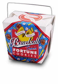 Themed Fortune Cookies (Baseball / Wholesale) W-FCBB