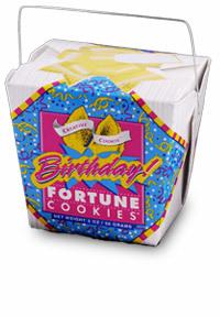 Themed Fortune Cookies (Birthday Confetti) - Wholesale W-FCBD