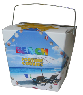 Themed Fortune Cookies (Beach / Wholesale) W-FCBE