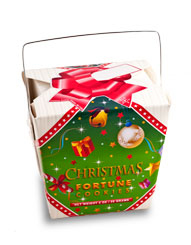 Themed Fortune Cookies (Christmas / Wholesale) W-FCCN