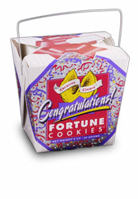 Themed Fortune Cookies (Congratulations / Wholesale) W-FCCO