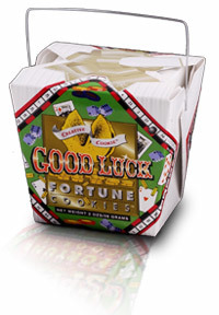Themed Fortune Cookies (Good Luck / Wholesale) W-FCGL