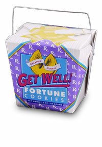 Themed Fortune Cookies (Get Well /  Wholesale) W-FCGW