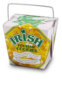 Themed Fortune Cookies (Irish / Wholesale) W-FCIR