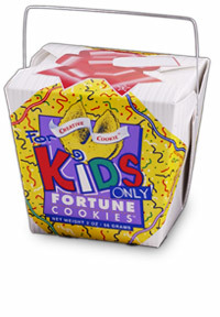 Themed Fortune Cookies (For Kids Only / Wholesale) W-FCKO