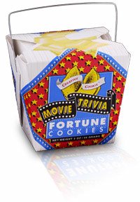 Themed Fortune Cookies (Movie Trivia / Wholesale) W-FCMT