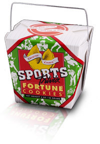 Themed Fortune Cookies (Sports Trivia / Wholesale) W-FCST
