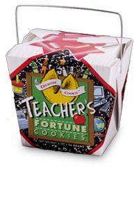 Themed Fortune Cookies (Teacher's / Wholesale) W-FCTE