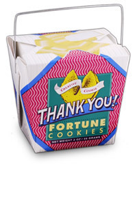 Themed Fortune Cookies (Thank You / Wholesale) W-FCTY