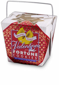 Themed Fortune Cookies (Valentine / Wholesale) W-FCVA