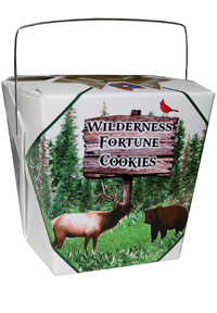 Themed Fortune Cookies (Wilderness / Wholesale) W-FCWI