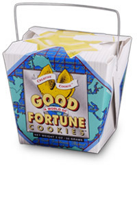 Themed Fortune Cookies (World of Good Fortune / Wholesale) W-FCWO