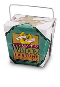 Themed Fortune Cookies (Wit & Wisdom / Wholesale) W-FCWW