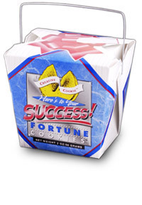 Themed Fortune Cookies (To Your Success / Wholesale) W-FCYS