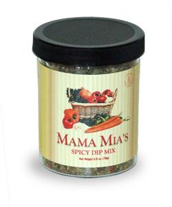 Gourmet Mama Mia Dip Mix - Large Jar - Wholesale W-GDMD