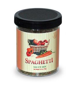 Gourmet Spaghetti Sauce Mix - Large Jar - Wholesale W-GDSS