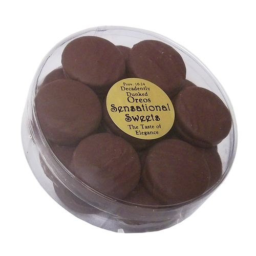 Gourmet Chocolate Dipped Oreos® - 1 lb. Tub - Wholesale W-OR601