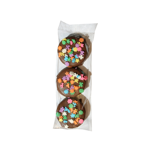 Gourmet Chocolate Dipped Oreos® - 3 Pieces Dipped & Decorated - Wholesale W-OR103D