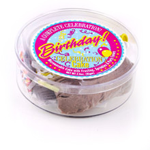 Microwave Cake (Happy Birthday Confetti / Wholesale) W-PMBCN / PMBWN