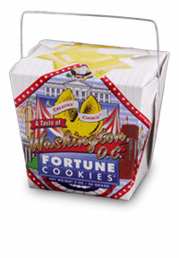 Themed Fortune Cookies (Taste of DC / Wholesale) W-REDC