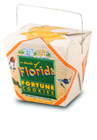 Themed Fortune Cookies (Taste of Florida / Wholesale) W-REFL
