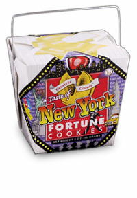 Themed Fortune Cookies (Taste of New York / Wholesale) W-RENY