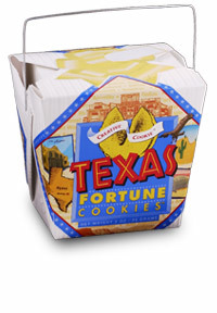 Themed Fortune Cookies (Taste of Texas / Wholesale) W-RETX