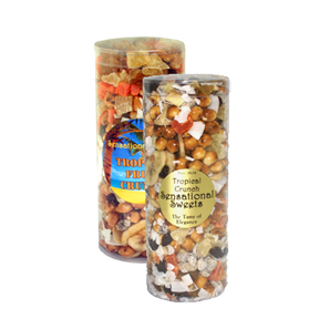 Tropical Fruit Crunch (1lb.) in Tube W-TMC501