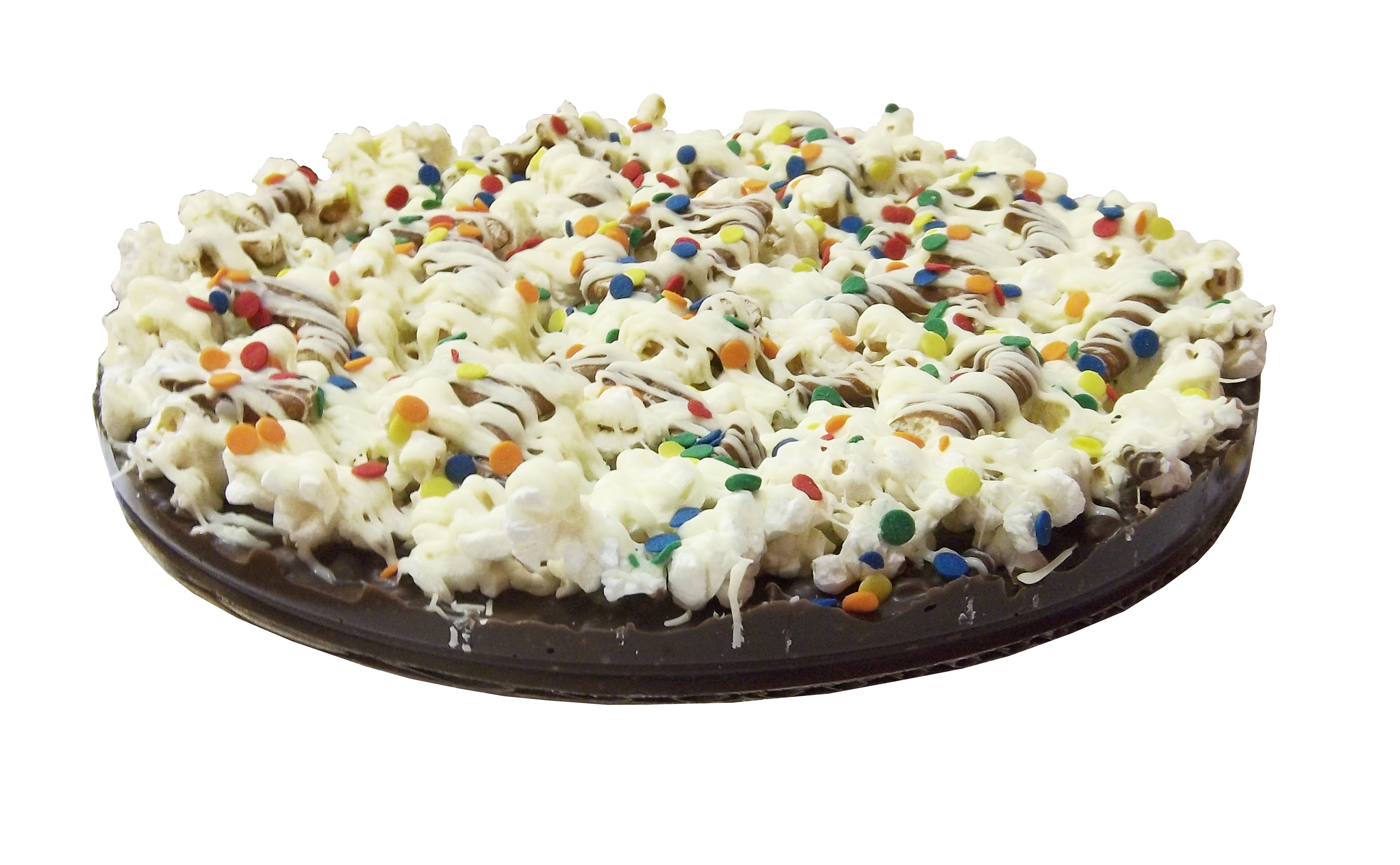 "Gourmet Chocolate Pizza with Pizazz 10"" (Decorated) PZDE"