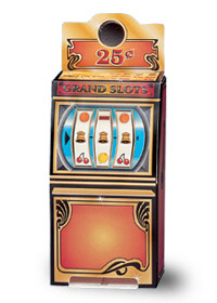 Large Slot Machine Gift Box CBSML