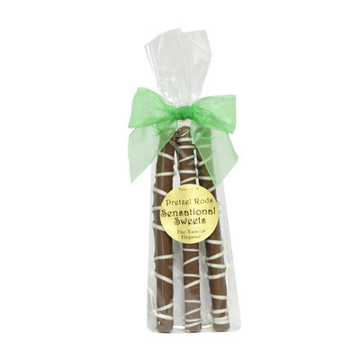 Gourmet Pretzel Rods (3 Pieces with Bow)