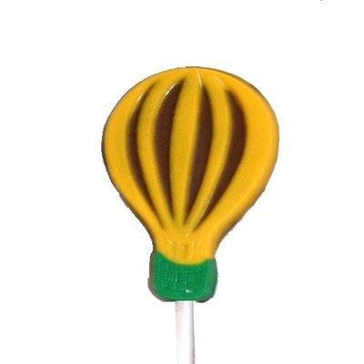 Chocolate Lollipops - Pollylops® - Striped Balloon