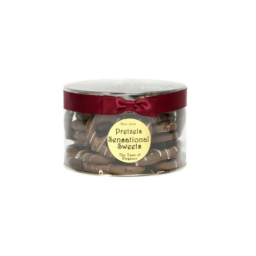 Gourmet Pretzels (1 lb. Tub with Ribbon) P14