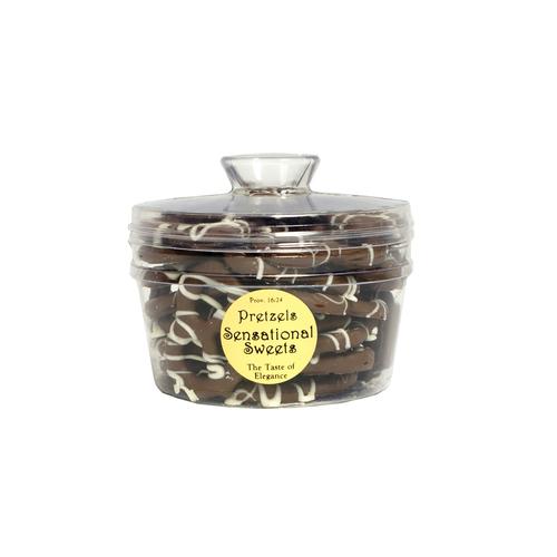 Gourmet Pretzels (1 lb. Molded Canister w/Knob) P15