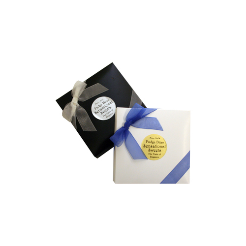 Gourmet Chocolate Fudge (9 Pieces in a 6 oz. Ribbon Box) FB124