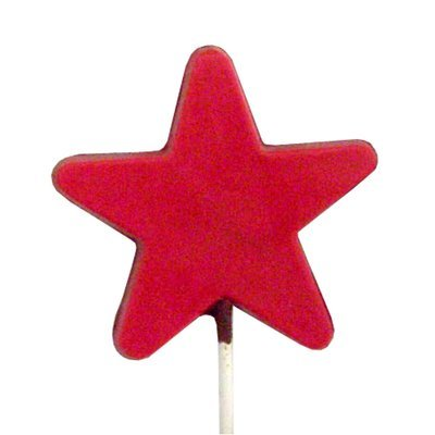 Chocolate Lollipops - Pollylops® - Star - Flat