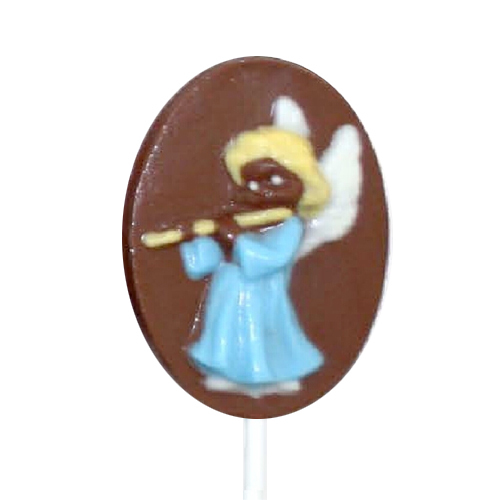 Chocolate Lollipops - Pollylops®) - Angel With Flute 113