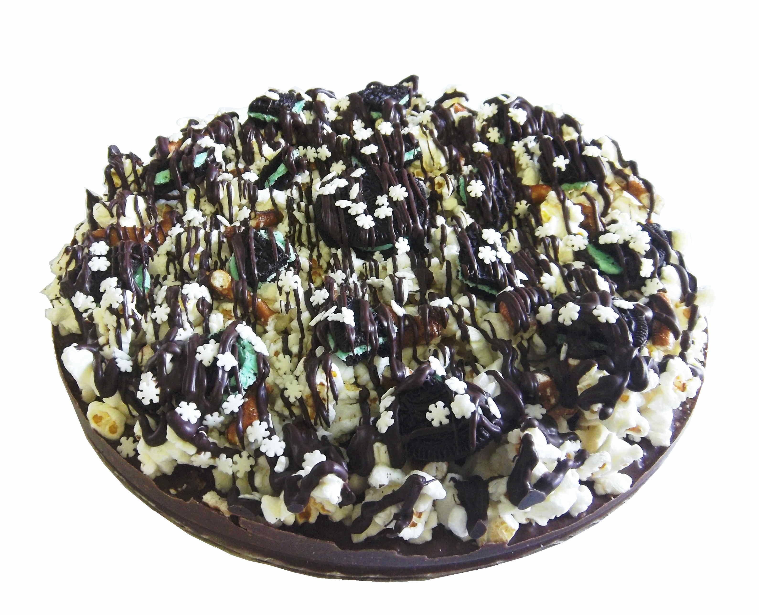 Gourmet Chocolate Pizza - Pizazz™ - Mini - Supreme - Dark Mint Chocolate - Wholesale W-MISUDM