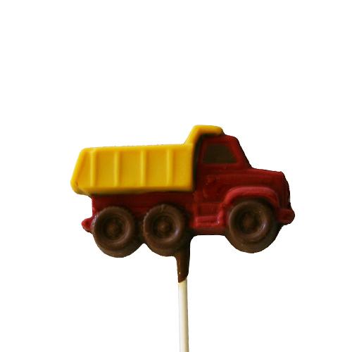 Chocolate Lollipops - Pollylops® - Dump Truck 815