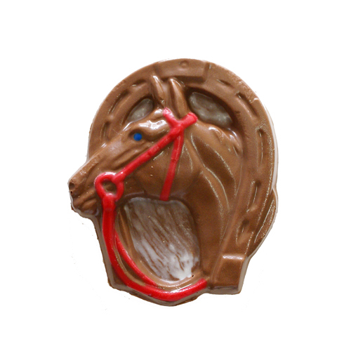 Chocolate Lollipops (Pollylops® Horse Head in Shoe) 628