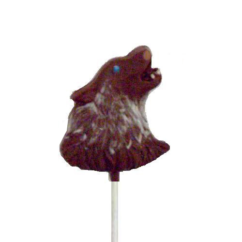 Chocolate Lollipops - Pollylops® - Wolf Head 630