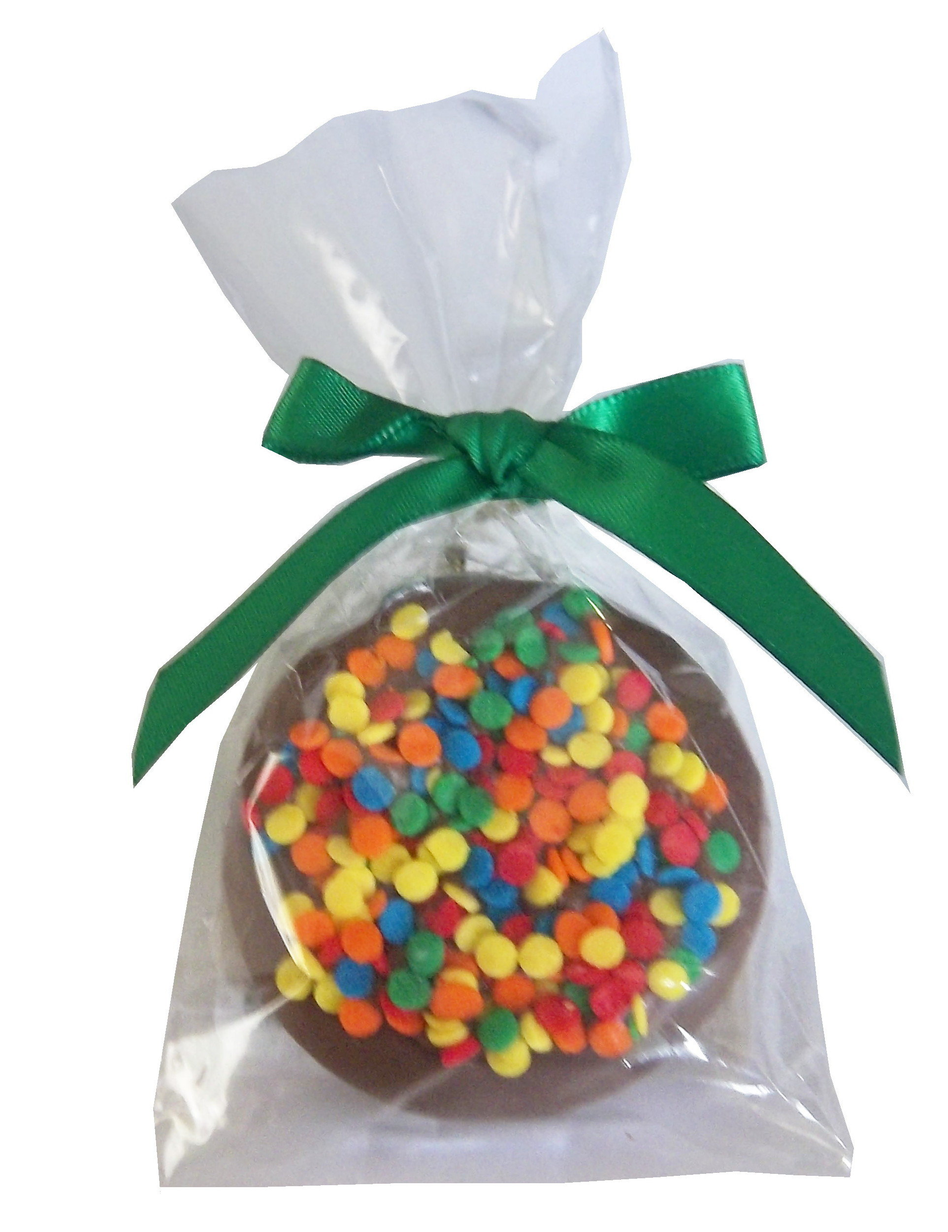 Gourmet Chocolate Dipped Oreo® - Single - Decorated w/Bow OR121D