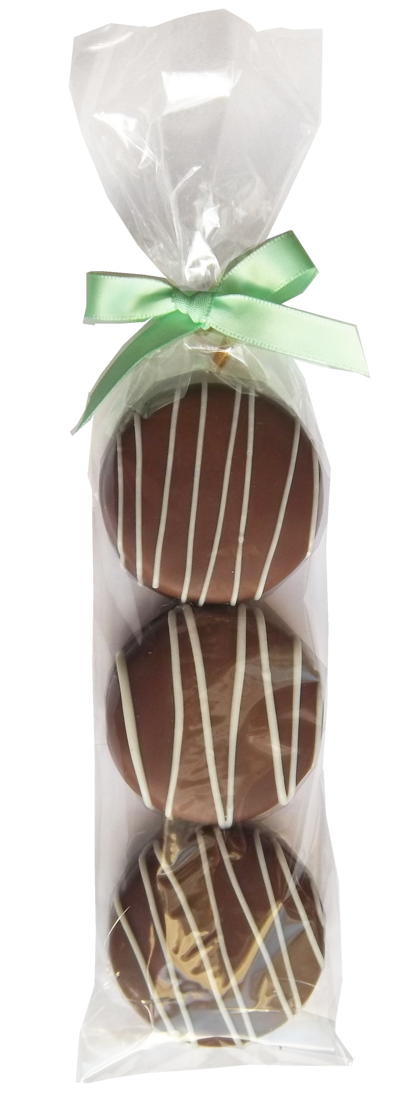 Gourmet Chocolate Dipped Oreo® - 3 Pack - White Chocolate Drizzled 00001